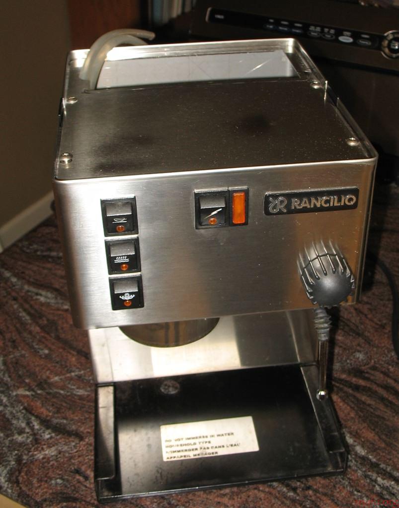 Coffee Maker Made Me Sick : 2014 Espresso Machine Repair