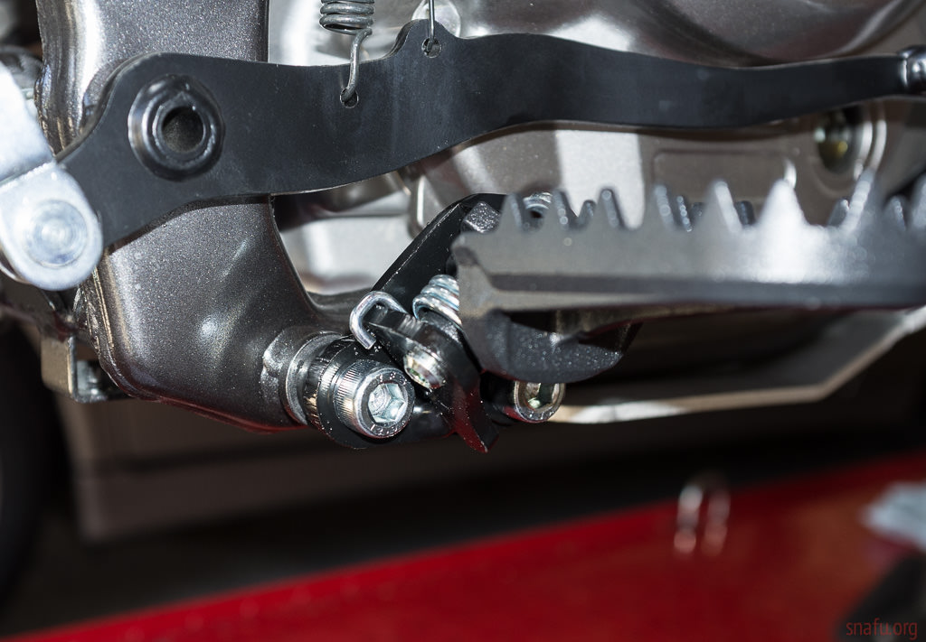Dr650 Lowered Foot Pegs