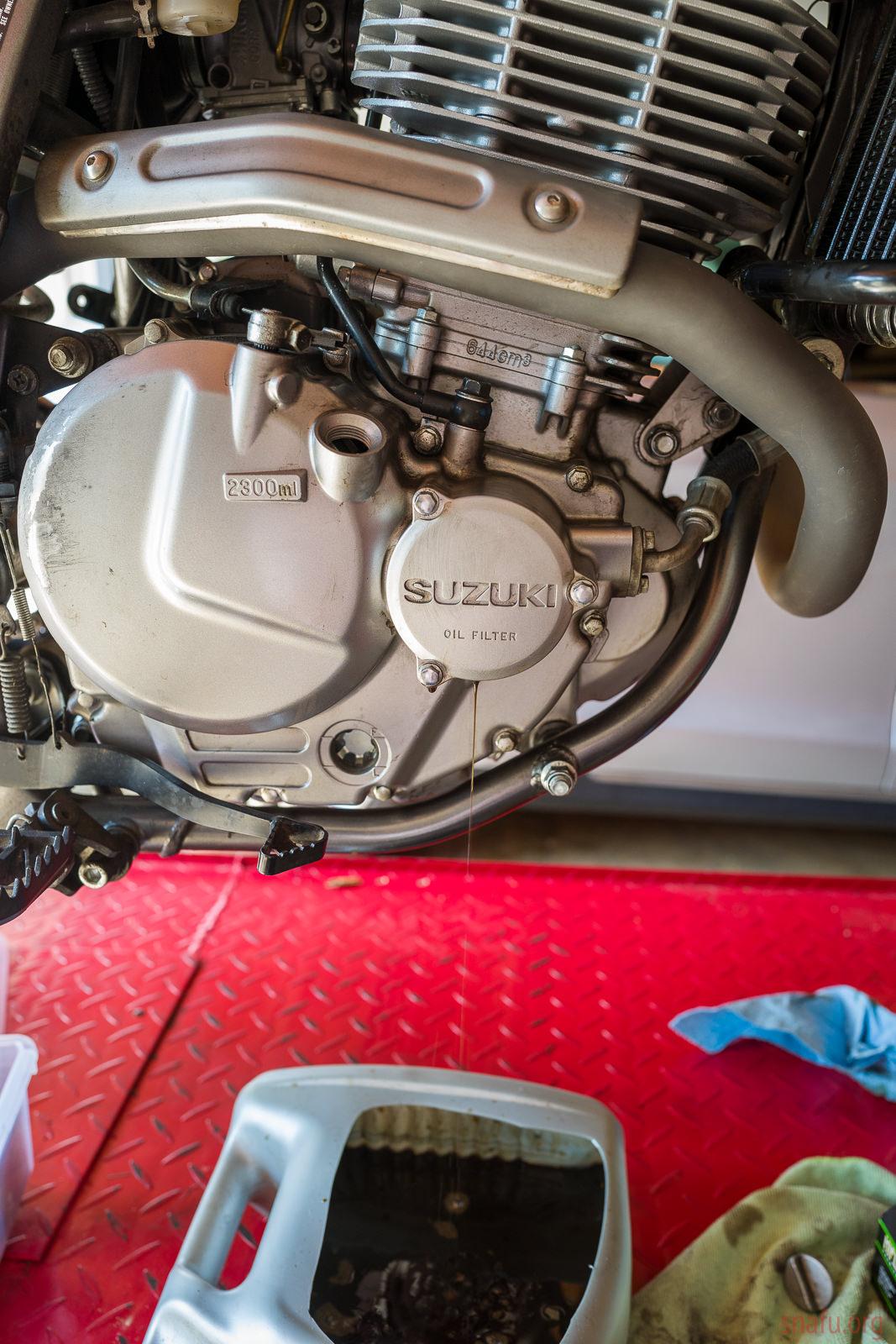 DR650 7500 mile service [page 3]