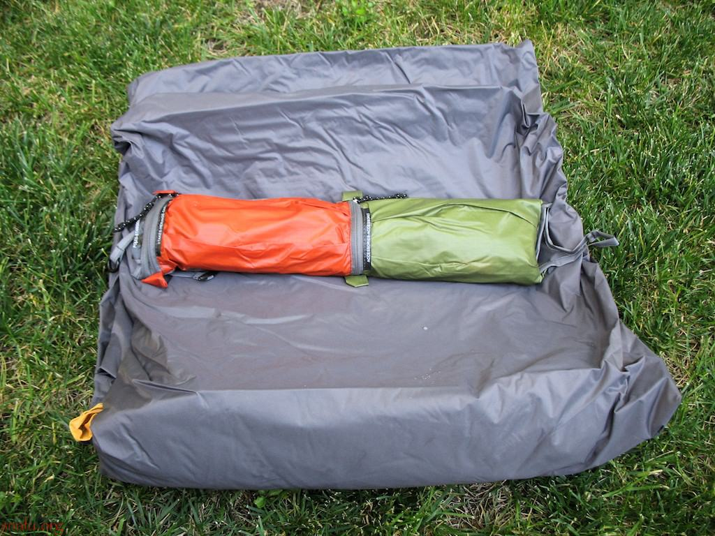 Stakes poles accessories & Exped Venus II Tent