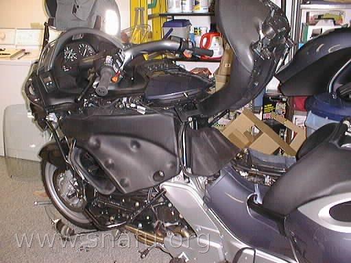 1999 Bmw K1200 Lt Plastic Removal