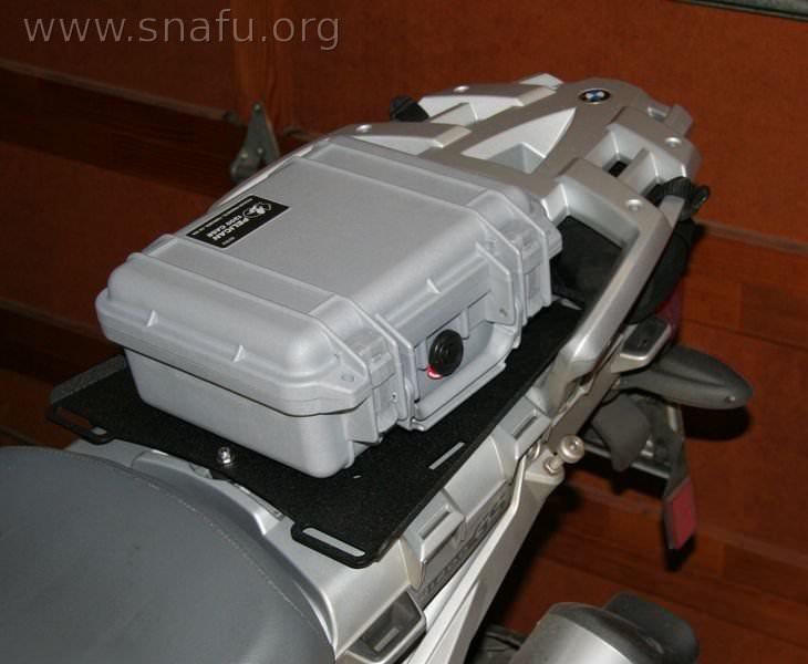 Pelican Case Top Box Motorcycle
