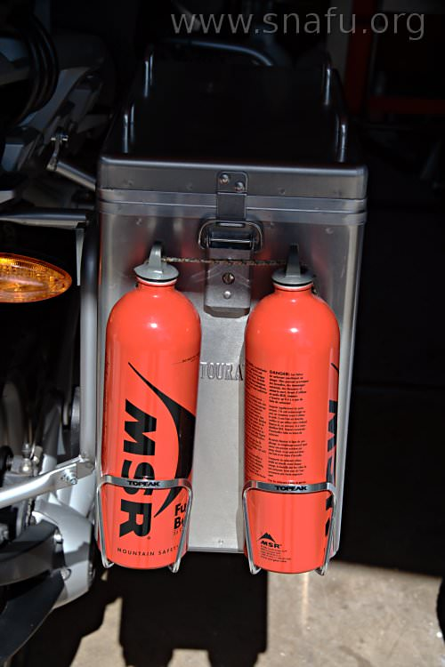 Water In Gas Tank >> R1200GS: Extra gas storage