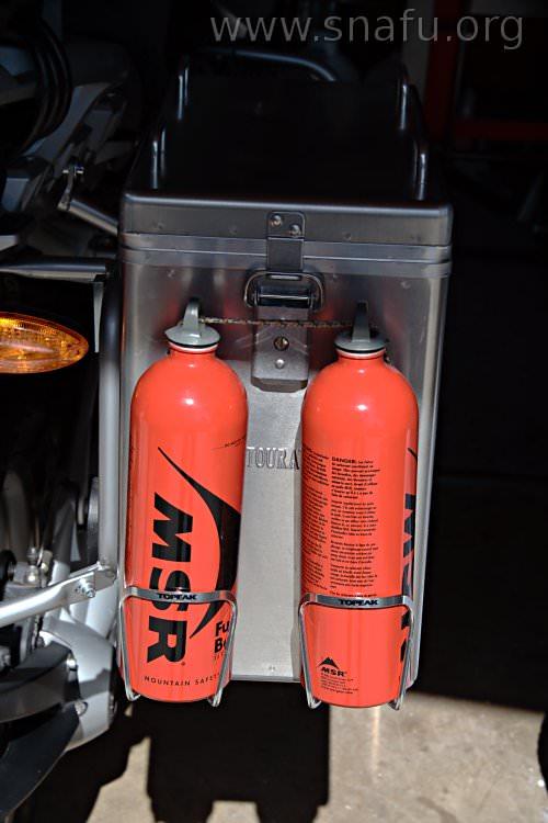 MSR bottle bracket    | Adventure Rider