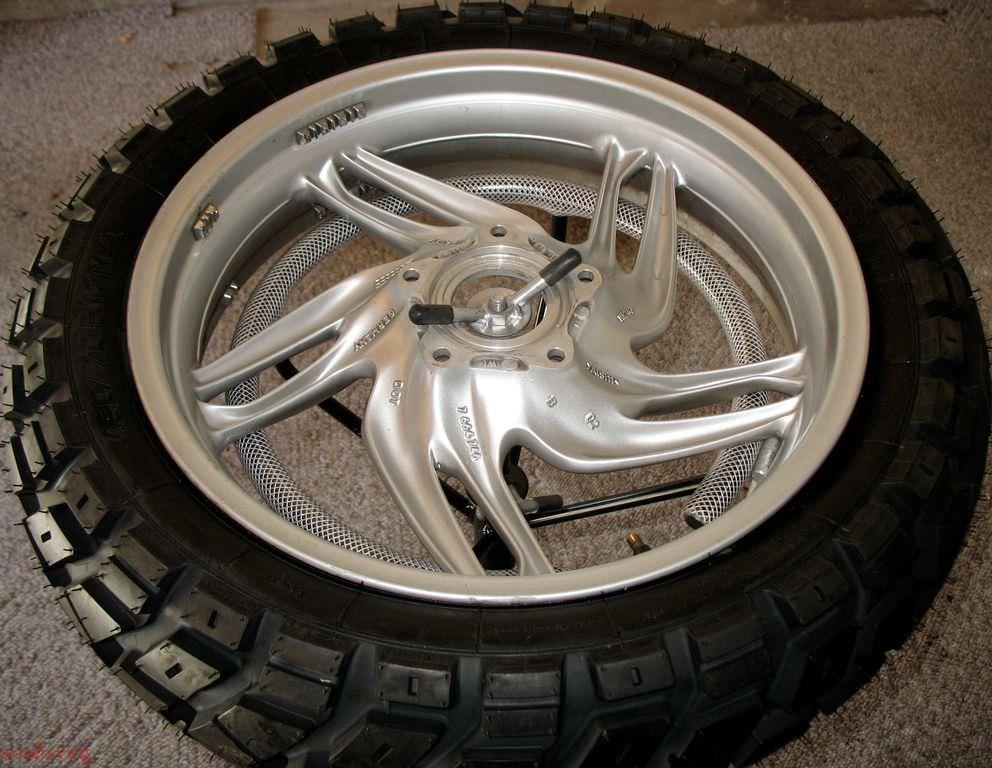 R1200GS: New Rear Tire